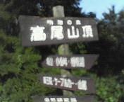 極私的8月10日(金)高尾山へ