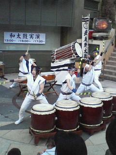 箱根駅伝と武蔵野太鼓