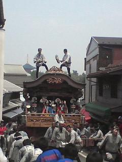 成田祇園祭と赤坂K1<br />  祭り