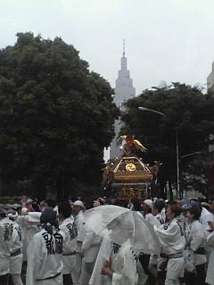 大相撲夏場所と花園神社  5.24