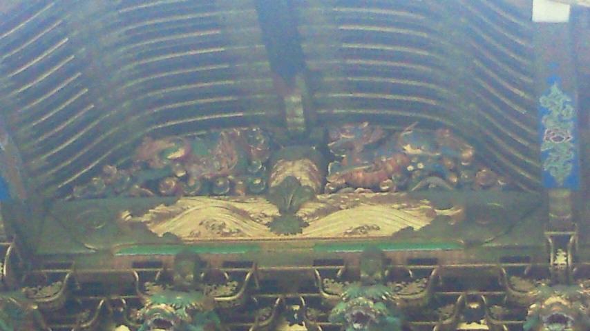 陽明門のキリン